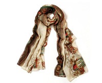 Cheap The spring and autumn period and the new fan bingbing star with 2013 ladies silk scarves B06 wagons big voile scarf