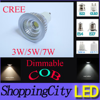 Spotlights SAA CREE MR16 GU10 E14 E27 GU5. 3 E26 COB dimmable...