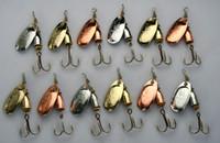 Metal  Baits fishing hooks wholesale - Lot12 FISHING METAL LURES Blue Vibrax SPINNERS SPINNERBAITS HOOKS BAITS g