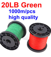 Wholesale M LB PE Braid Fishing Line green SUPER STRONG