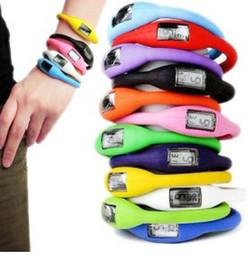 Promotion choix de sports nouveaux sports montre de silicone anion hommes femmes mode 1ATM imperméable 20color montre numérique conduit pour le choix de DHL best2011 de livraison gratuite
