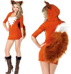 Wholesale New Woman Lady Sexy Wild Cutesy little fox Cosplay Costume Clubwear Lingerie Fancy Halloween