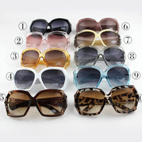 Wholesale 10 New arrivals Sunglasses Vintage Clear square frame Unisex Outdoor Sunglasses Glasses