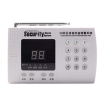 Wholesale 99 Zones Wireless Home House Security Alarm Burglar System Auto Dial alarm system Easy Install