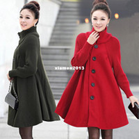 Winter Full Mandarin Collar Maternity clothing spring and autumn maternity outerwear trench fashion stand collar loose maternity woolen overcoat