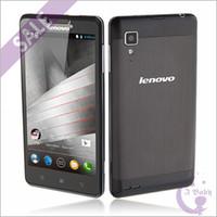 Precio de Lenovo p780-5,0 pulgadas Corning II Gorilla Vidrio <b>Lenovo P780</b> Quad Núcleo MTK6589 1.2GHz 1GB 4GB Android 4.2 OTG GPS WiFi 3G WCDMA Dual Sim Tarjeta FM Smartphone