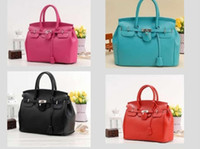 Wholesale Hot Celebrity Girl Faux Leather Handbag Tote Shoulder Bags Woman HandBag