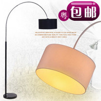 Wholesale Fashion floor lamp living room lights bedroom lamp fishing lamp modern brief floor lamp
