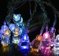 Wholesale LED String Light Penguin Battery String Light Christmas Tree Festival Decoration Light m