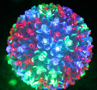 Wholesale LED lights LED cherry ball gorgeous holiday lights garden decoration creative wedding supplies decorative items