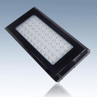 Wholesale Brand new W LED aquarium light for coral and reef with LEDs w epistar chips Black Free Ship within US stocked in US
