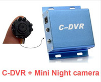 Wholesale Mini Security DVR Micro SD Card Recording with night vision camera Supports up to GB S412