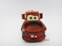 Wholesale Pixar Cars Length inch Pixar Cars change bad Mater cars alloy diecast figure plastic truck action toy figure