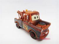 Wholesale Pixar Cars Length inch Pixar Cars change bad Mater cars alloy diecast figure plastic truck action toy figure EMS