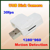 8GB Motion Detection  Free Shipping Hot 8GB Mini USB Disk Camera 1280*960 Hidden DVR U-Disk Camera Motion Detection Video Recorder Camcorder