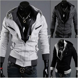 New Men's Cotton Winter Hoodies Dress Cardigan Coat Mens Sports Casual Sweatshirt Jackets Outerwear M~XXL