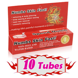 Wholesale New Arrival Speed Numb Anesthetic Cream Tattoo Numbs Skin Fast Painless Tattooing Kits Accessory