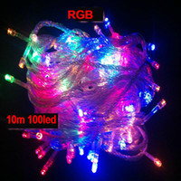 Wholesale IP44 M LEDS LED String Lights V for Glue waterproof With tail plug