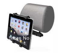 Wholesale Universal Car Seat Back Pillow Headrest Phone Mount Holder for Tablet PC inch to inch For Tablet PC iPad Mini