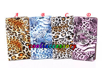 For Samsung animal skin wallets - For Samsung Galaxy Note III Note3 N9000 Tiger leopard animal Leather wallet case pouch stand holster credit card skin cases