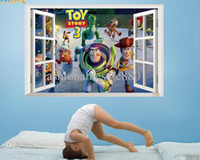 Wholesale 60cm cm D Cartoon Wall Sticker Toy Story Children s Wall Sticker Home decal