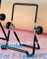 Wholesale Portable Metal Stands Holder For iPad Mini Tablet PC Samsung Cellphone E book Reader DHL Fedex