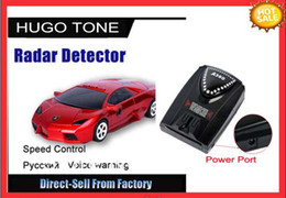 Wholesale Promotion Full Band Alert A380 Car Radar Detector Laser Defense System Compatible with GPS Navigator