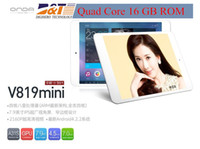 Wholesale Onda V819 mini pad Quad Core tablet PC quot IPS Allwinner A31s1024x768 GB RAM GB Android Dual Camera
