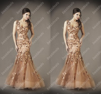 2014 New Sexy One Shoulder Organza Evening Dresses with Flor...