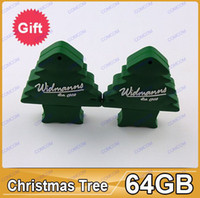 Wholesale 64gb Best Christmas gift usb flash memory Christmas tree USB flash drive offered AY059