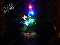 Christmas Tree No Yes Factory direct multicolored glitter tree dolphin night light light lantern landscape tree night light flash tree bonsai tree