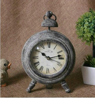 Wholesale Time is antique clock floor clock antique clock props vintage clock