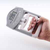 Wholesale Camry KG Lbs Capacity Range Electronic Hand Dynamometer Hand Grip Strength Meter Great for Gymnasts