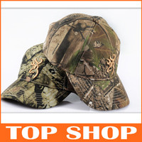 Wholesale New Hunting Fishing Cap Hat Bionic Camouflage Baseball Cotton Size Adjustable Embroidered Rugged Outdoor Apparel HW0905