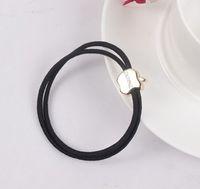 Wholesale South Korean version of high quality metal crown love retro hair accessories hair rubber band rope hair ring female g