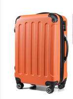 Wholesale Unisex Korean Trolley case of universal wheel suitcase boarding bag luggage case Size inches ten colors on sale