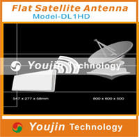 Wholesale Flat satellite antenna with integrated LNB Dual Linear Polarization Flat Satellite Antenna