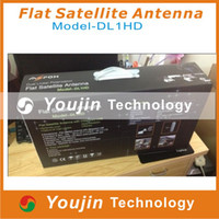 Outdoor TV Antennas outdoor tv antenna - original factory hot selling flat antenna for satellite tv receiver universal DL1HD with integrated singel LNB