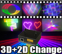 Wholesale Factory Promotion Price W mW RGB Full Color D D effect Animation Laser light DMX Laser Light