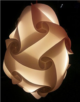 Wholesale PUZZLE LIGHTS White Modern Lamp Shade Medium M