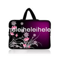 Wholesale quot Neoprene Laptop Netbook Soft Case Sleeve Bag Pouch Hide Handle For quot quot HP Dell Laptop PC