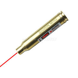 Tactical Hunting CAL .300 WIN BORE SIGHTER LASER 300WIN For Rifle Scope Red Dot Laser Bore Sight
