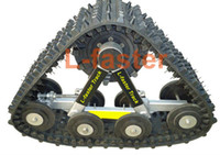 Wholesale ATV tracks rubber tracks UTV tracks systems UTV snow mobile track kit cc ATV Track conversion system FREE FREIGHT