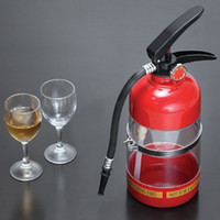 Plastic mini water dispenser - Fire Extinguisher Water Dispenser Mini Fire Bucket Beer Machine Beverage Machine Bar Beer Dispenser