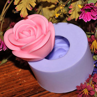FDA soap mould Silicone Rubber Hot R1072 silicon soap mold,rose flower mold fondant mold flowers,DIY resin crafts mould handmade soap mold forms stencil candle mold