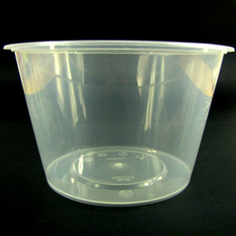 Wholesale Microwave disposable round plastic food container with lid Environmental Friendly