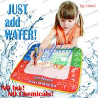 Wholesale LLFA2884 In Stock CP1326nc X48cm Magic Water Doodle Mat amp Magic Pen Drawing Board Water Mat aquadoodle drawing mat