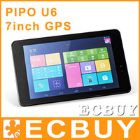 PIPO 7 inch Quad Core Pipo U6 7 Inch GPS Quad Core Android 4.2 Tablet PC 1440*900 Retina IPS screen HDMI 1.6Ghz 1G 16GB 5.0MP camera with flach light bluetooth