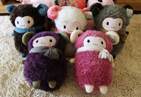 Wholesale Sheep plush toy doll thermal cartoon pillow alpaca hand Warmer handwarmer pocket pink color