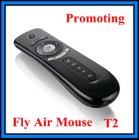 Wholesale T2 Air Mouse Ghz Android Remote Control D Motion Stick TV Box Mini PC Gaming Laptops Desktops